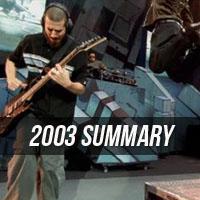 2003 Summary
