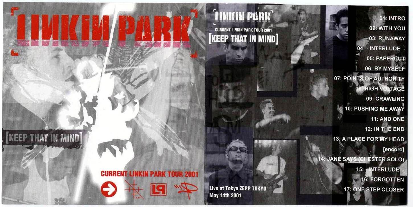 2001 05 14 Tokyo, Japan - 2001 - Linkin Park Live