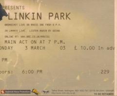 2003.03.03 Nottingham