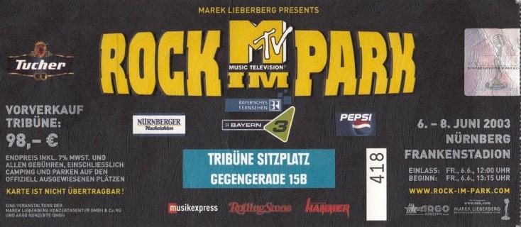 2003.06.08 Rock Im Park 2