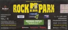 2003.06.08 Rock Im Park