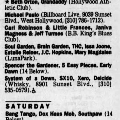 Xero   1997.11.13   The Los Angeles Times