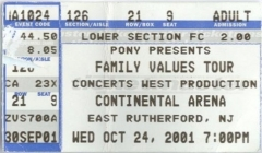 2001.10.24 East Rutherford